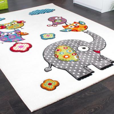 állatbarát szőnyeg - gyerekszoba ötlet, modern stílusban