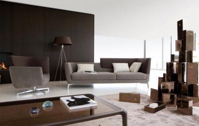 Posztmodern nappali - nappali ötlet, modern stílusban