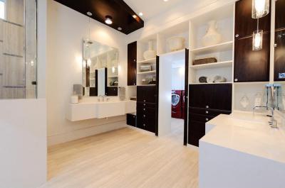 modern fürdő - fürdő / WC ötlet