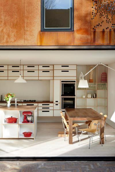Konyha étkező retro hangulatban - konyha / étkező ötlet, modern stílusban