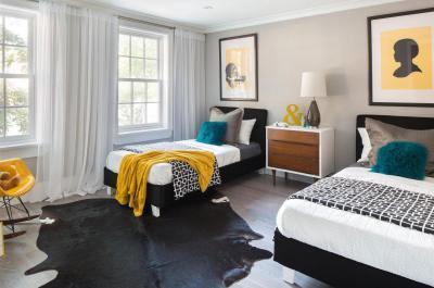 Modern hálószoba - háló ötlet, modern stílusban
