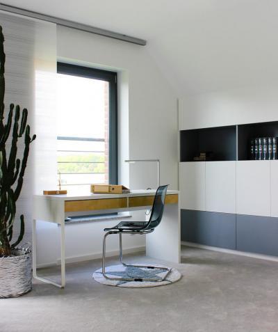 modern dolgozó - dolgozószoba ötlet, modern stílusban