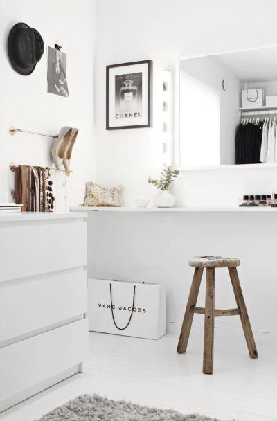 modern öltöző, rusztikus kiegészítővel - belső továbbiak ötlet, modern stílusban