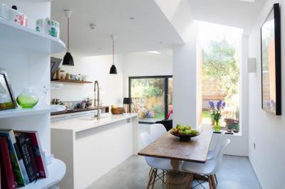 Otthonos hangulat - konyha / étkező ötlet, modern stílusban