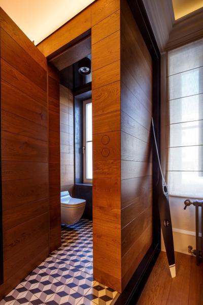 Látványos részletek - fürdő / WC ötlet, modern stílusban