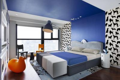 Dekoratív hálószoba - háló ötlet