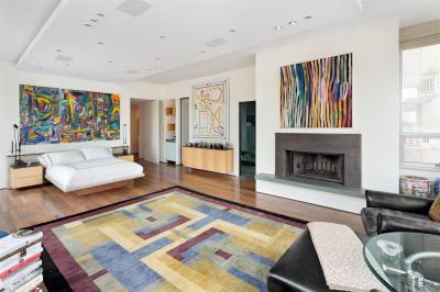 Modern szőnyeg a lakásban - nappali ötlet, modern stílusban