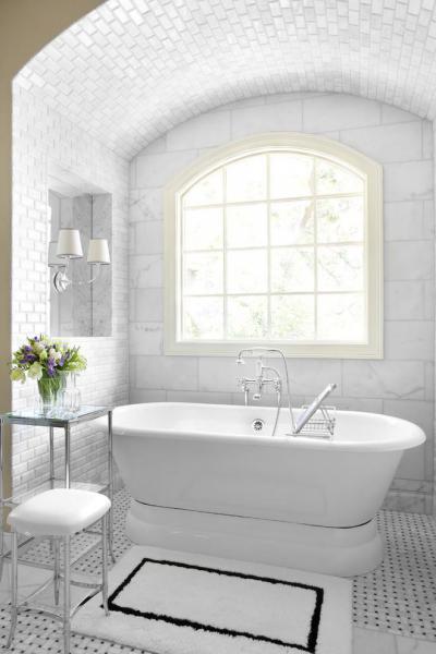 boltív a fürdőben - fürdő / WC ötlet
