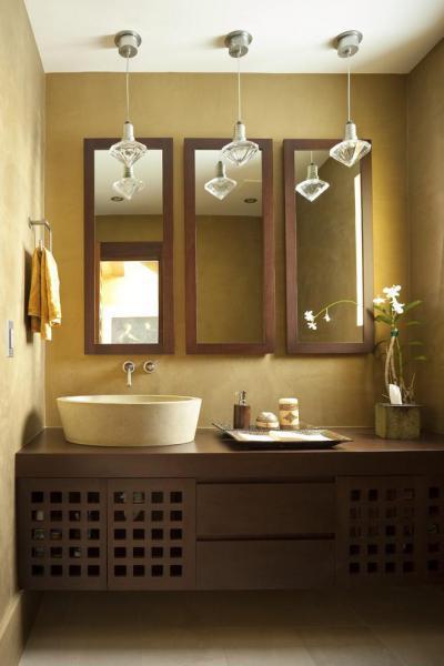 kheki a mosdóban - fürdő / WC ötlet
