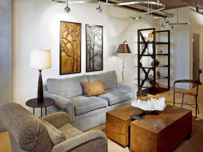 Klasszikus nappali modern mennyezeti világítás - nappali ötlet