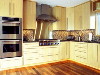 Modern konyha pultvilágítása - konyha / étkező ötlet, modern stílusban
