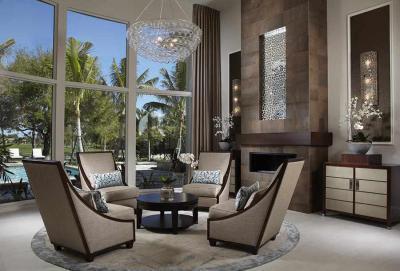társalgó - nappali ötlet, modern stílusban