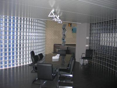 Tárgyaló - dolgozószoba ötlet, modern stílusban