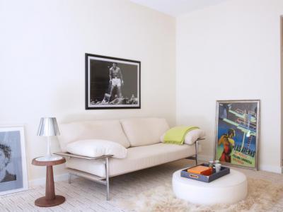Vendégszoba - nappali ötlet, modern stílusban