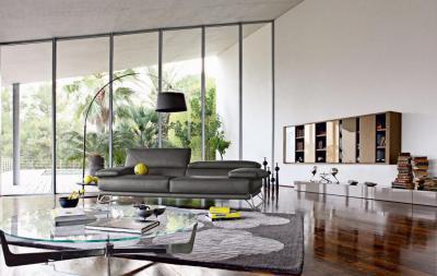 Tágas nappali - nappali ötlet, modern stílusban
