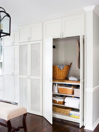 Hófehér bútorzat - belső továbbiak ötlet, modern stílusban