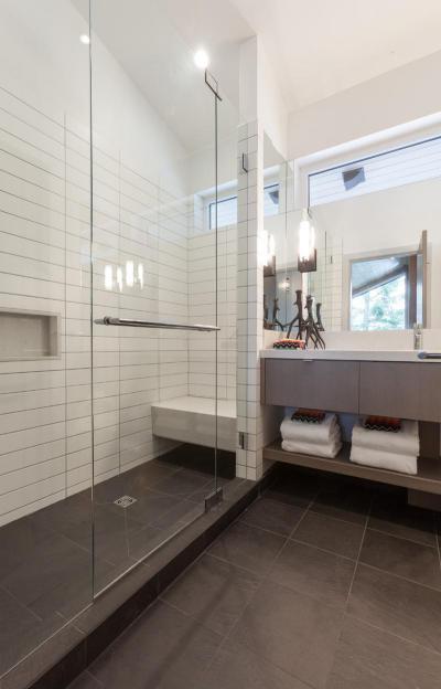 szürke fürdőszoba bútor ötletek