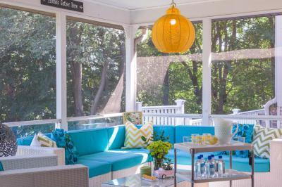 Tökéletes terasz - erkély / terasz ötlet, modern stílusban
