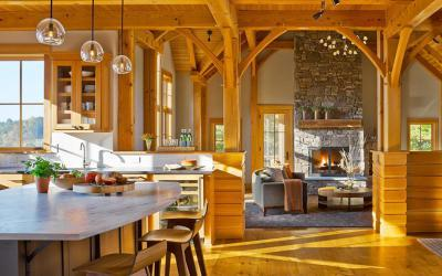 Tradicionális nappali - nappali ötlet, modern stílusban