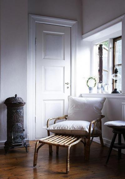 Rusztikus pihenősarok - háló ötlet, rusztikus stílusban