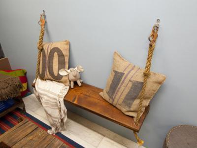 Egyedi dekoráció az előszobában - belső továbbiak ötlet, modern stílusban