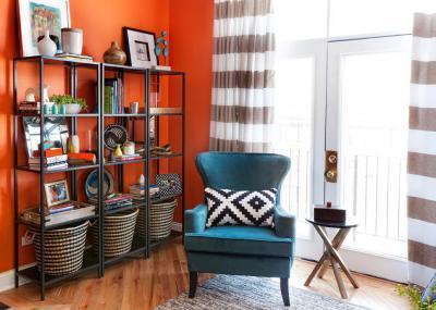 Modern nappali dekoráció - belső továbbiak ötlet, modern stílusban