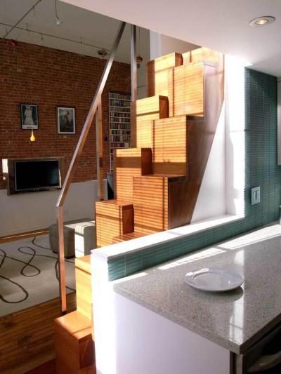 Szokatlan galéria lépcső // HOMEINFO.hu - Inspirációtár