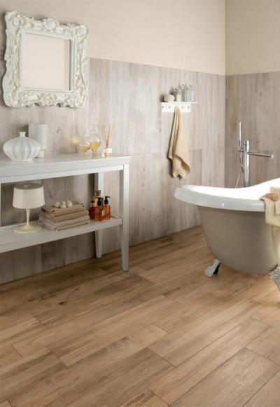 Klasszikus és modern elemek - fürdő / WC ötlet