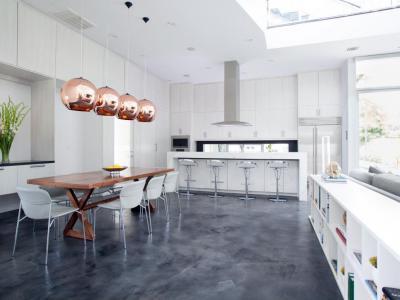 Modern konyha enteriőr - konyha / étkező ötlet, modern stílusban