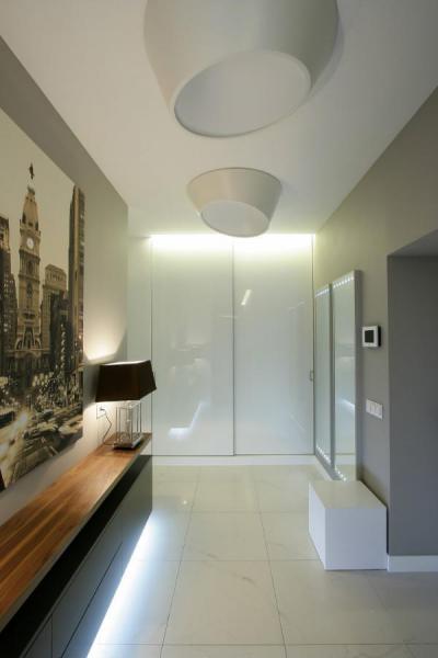 Modern belépő - belső továbbiak ötlet, modern stílusban