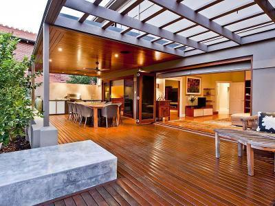 Erkély, terasz tetők - kert / udvar ötlet, modern stílusban