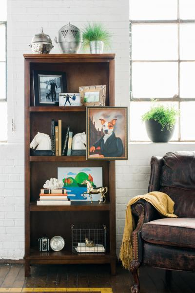 Olvasófotel - nappali ötlet