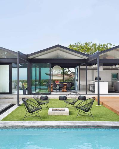 Hangulatos terasz - erkély / terasz ötlet, modern stílusban