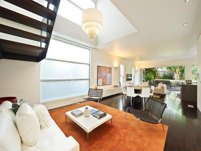 Világítás a házban - nappali ötlet, modern stílusban