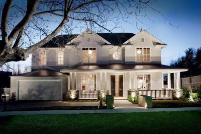 Romantikus ház - homlokzat ötlet
