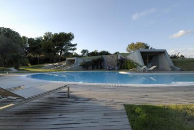 Mediterrán terasz medencével - erkély / terasz ötlet, mediterrán stílusban