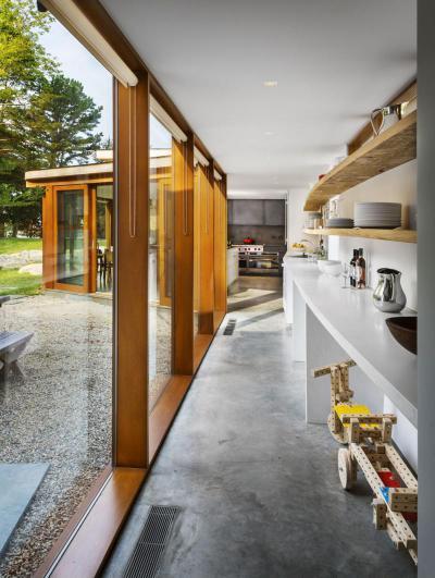 Napos konyha - konyha / étkező ötlet, modern stílusban