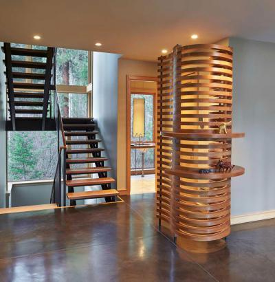 Lépcsőfeljáró - belső továbbiak ötlet, modern stílusban
