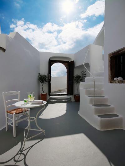 Mediterrán nyaraló - erkély / terasz ötlet, mediterrán stílusban