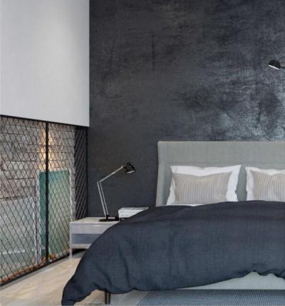 Kreatív fali dekoráció - háló ötlet, modern stílusban