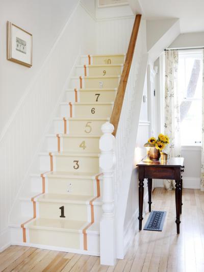 Lépcső számozva - belső továbbiak ötlet, klasszikus stílusban