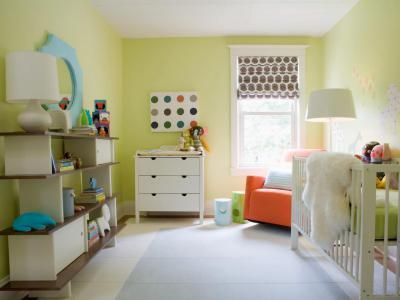 Pasztell babaszoba - gyerekszoba ötlet, modern stílusban