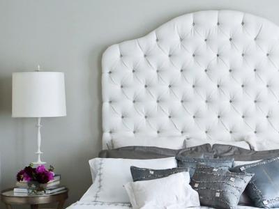 Fehér háló kis ezüsttel - háló ötlet, modern stílusban
