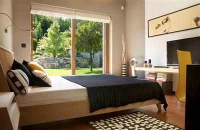 Modern lakóház - háló ötlet, modern stílusban