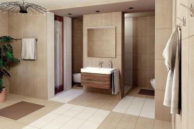 ALMERIA fürdőszoba burkolat - fürdő / WC ötlet, modern stílusban