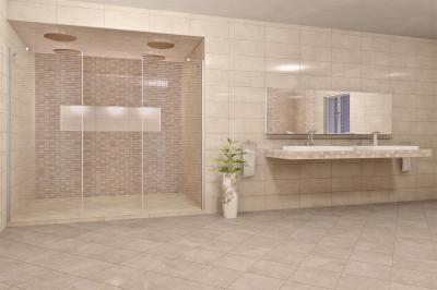 OPERA fürdőszoba burkolat - fürdő / WC ötlet, modern stílusban