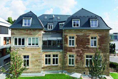 Prefa tetőfedési rendszer - tető ötlet, klasszikus stílusban