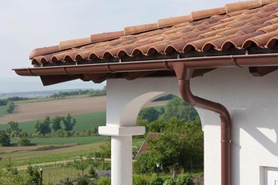 Prefa tető vízelvezetés - tető ötlet, rusztikus stílusban