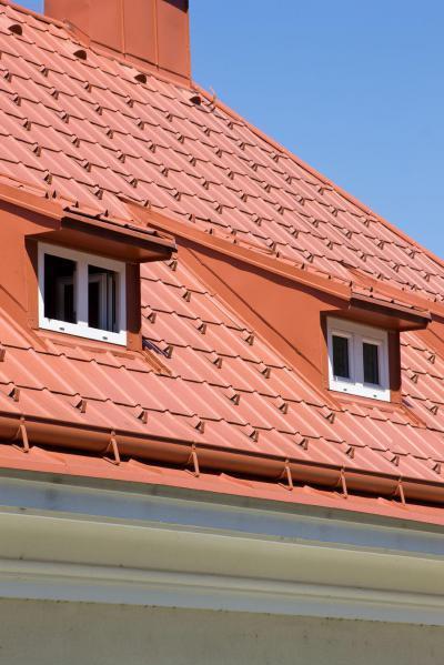 Prefa tető vízelvezetés - tető ötlet, modern stílusban