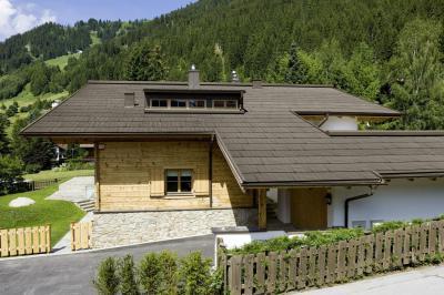 Prefa tetőfedési rendszer - tető ötlet, rusztikus stílusban